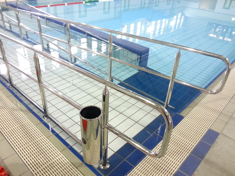 Disability Products - Guide rails for swimming pools