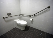 Disability handrail support toilet saftey & accessibility Australia