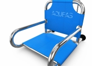 Aquatic Chair for Hydrotherapy by AQUEAS model shown AQ-HTC001