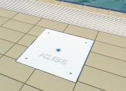 Lane Rope Vault access hatch lid by AQUEAS