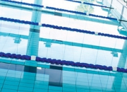 Lane ropes for commercial swimming pools