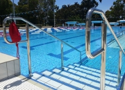 Pool Stair Handrails to assist accessibility to pools, spas or specialist pools