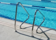 Pool Entry Grab Rails to aid with accessibility to pools