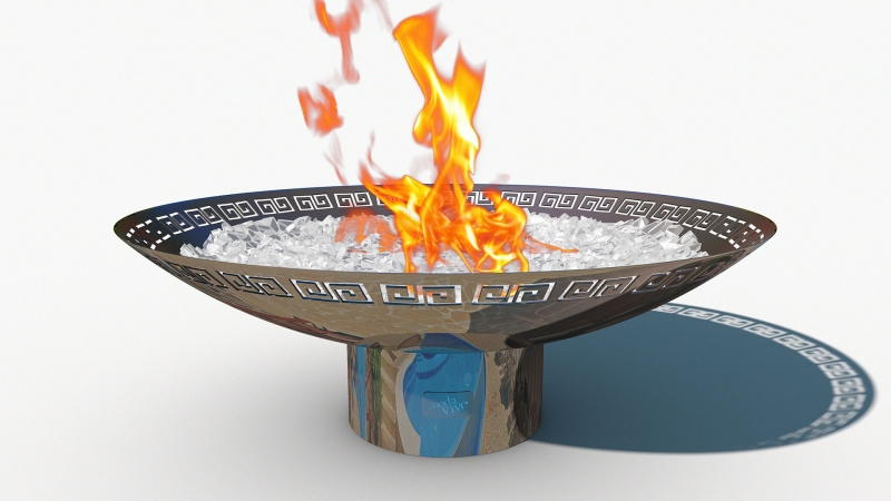 Fire Pit REFLECTIONS - Spartan Model