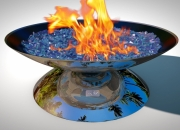 Fire Pit REFLECTIONS - Illusion Model with bio fuel