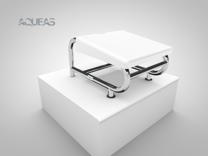 AQ-SP02 AQUEAS Starting Platform White