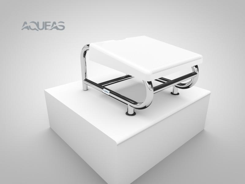 AQ-SP02 AQUEAS Starting Platform White