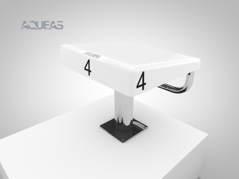 AQ-SP06 AQUEAS Starting Platform White