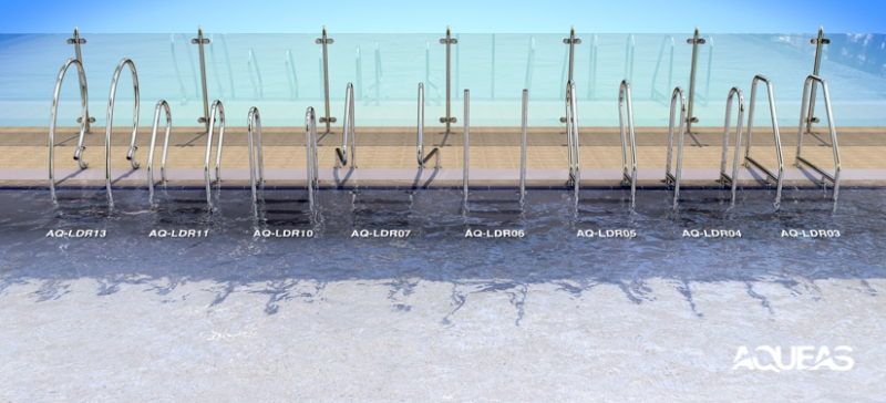 AQUEAS Pool Ladder range by Drizign