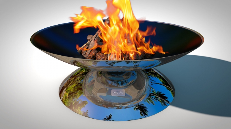 Fire Pit REFLECTIONS - Illusion Model