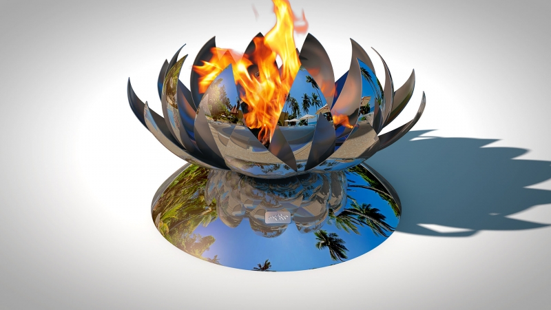 Fire Pit REFLECTIONS - Phoenix Model