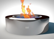 Fire Pit REFLECTIONS - Galaxy Model with bio fuel