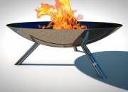 Fire Pit REFLECTIONS - Tripod Model
